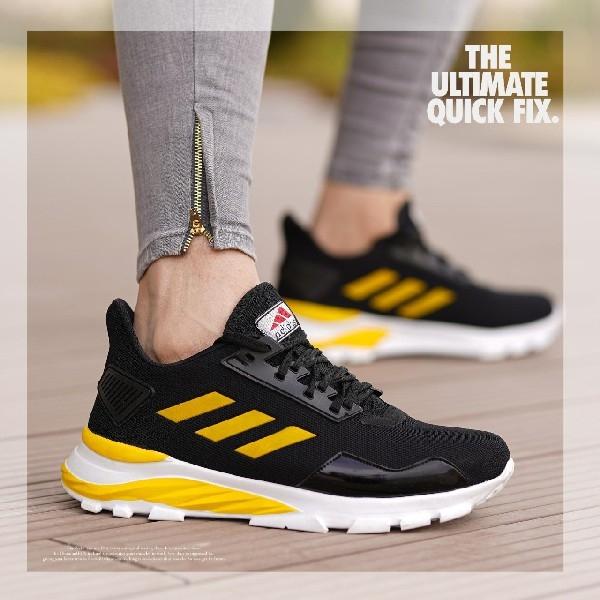 کفش adidas مدل N33 (مشکی زرد)
