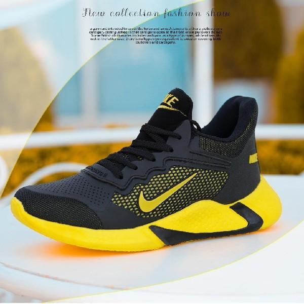 کفش مردانه nike مدل adrian (مشکی زرد)