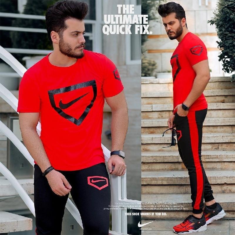 ست تیشرت و شلوار Nike مدل Hunter