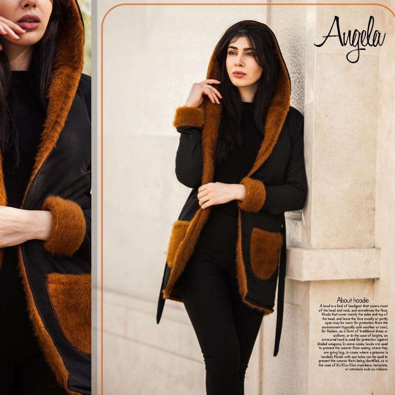 هودی دخترانه مدل Angela