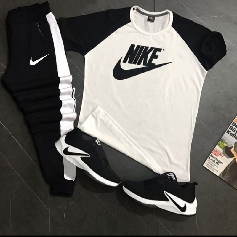 ست تیشرت وشلوار Nike مدل Adash
